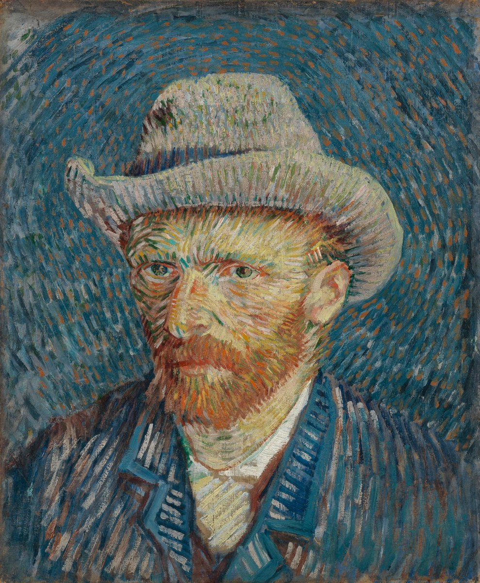 This painting is one of the few by Van Gogh that people can see up close at the moment, as the museums reopened! The self-portrait is currently on loan to the Centro Culturale San Gaetano. The Van Gogh Museum will hopefully be open again when the painting returns. We can't wait! https://t.co/MxJhDy1SA3