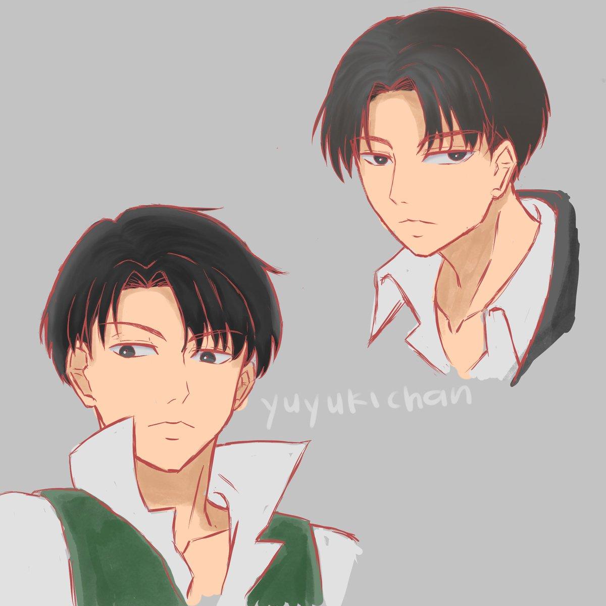 Random sketches of Levi Heichou~ #LeviAckerman #AttackOnTitan #AnimeArt #FANART