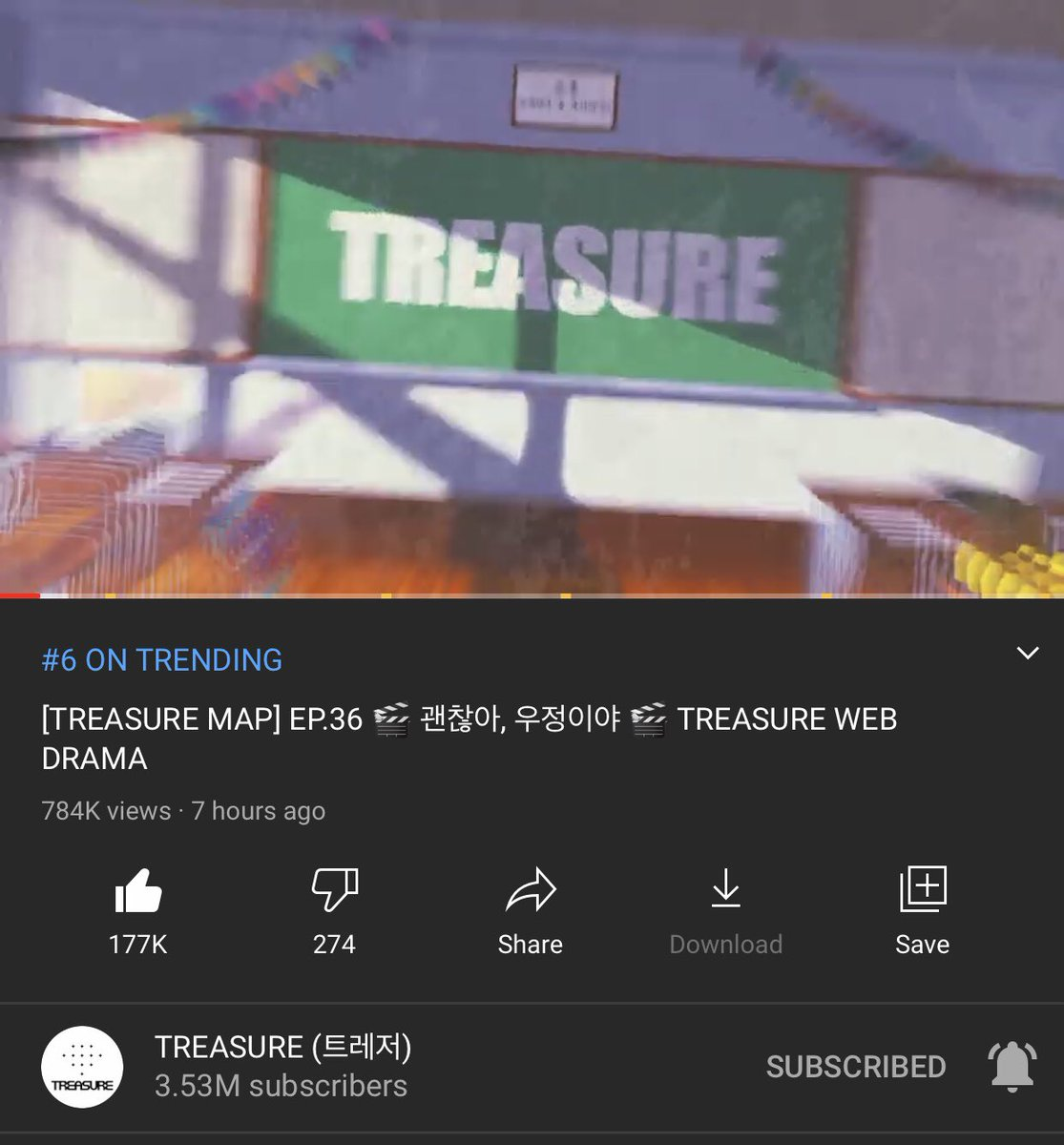 ITS OKAY ITS FRIENDSHIP  [TREASURE MAP] EP.36 TREASURE WEB DRAMA  #TREASURE  #TREASURE_WEBDRAMA #ITSOKAYITSFRIENDSHIP #TRENDING #TREASUREMAP
