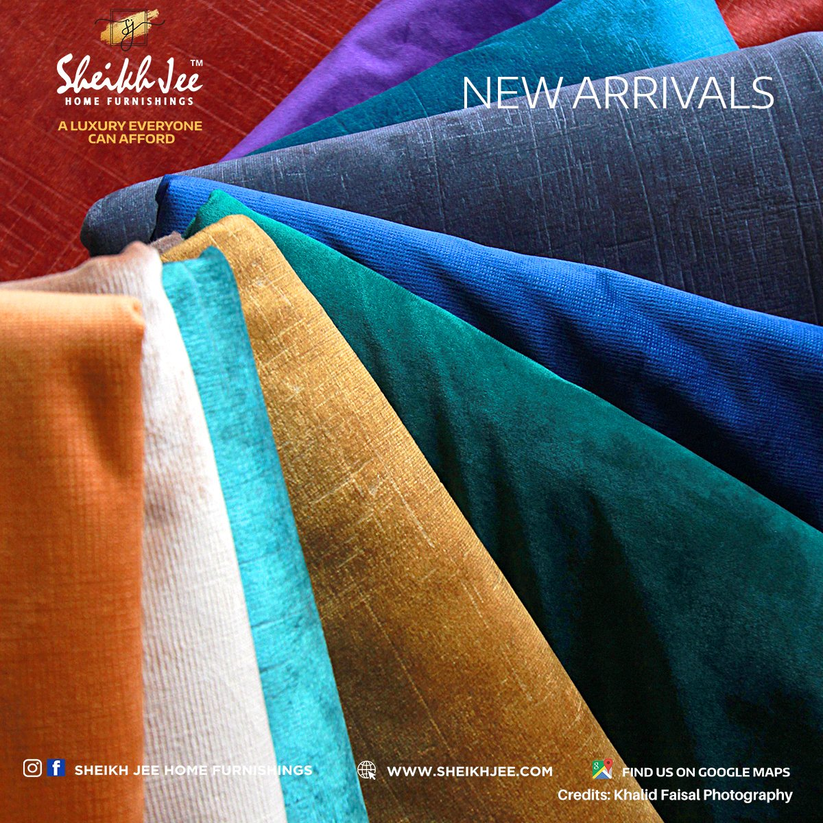 NEW ARRIVALS Adding a hint of vibrant hues to your home furnishings this spring season is always a good idea and finding the trendy shades that work best. Discover more at our showrooms.  Call: 0333-4000989 or 0322-4242222 #lahore #trending #luxuryhomes #vibranthues