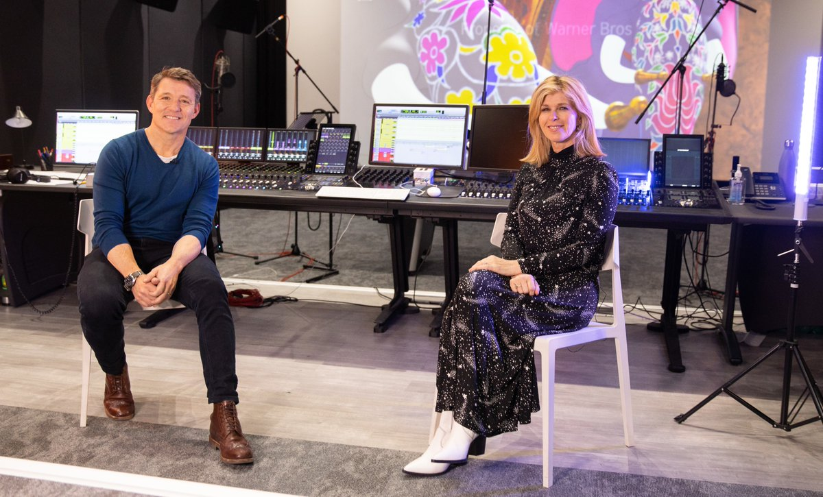 🚨 Breaking News 🚨 @benshephard & @kategarraway to star in #TomAndJerryMovie! Go behind the scenes as the @GMB stars record their parts! See the film in the UK soon.