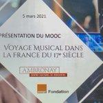 Image for the Tweet beginning: Présentation du 1er Mooc musique