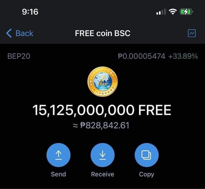 100 MILLION #FREECOIN WILL BE GIVEN TO 500 PEOPLE TO 👇👇  FOLLOW ME @BILLIONAIRE_GEL  RETWEET THIS TWEET COMMENT WALLET ADDRESS  PRIZE WILL BE RECEIVED AFTER 24hrs MORE AND MORE GIVE A WAYS COMING 💥💥💥  #FREECOIN  @THE_FREE_COIN  #BSC  #cryptocurrency