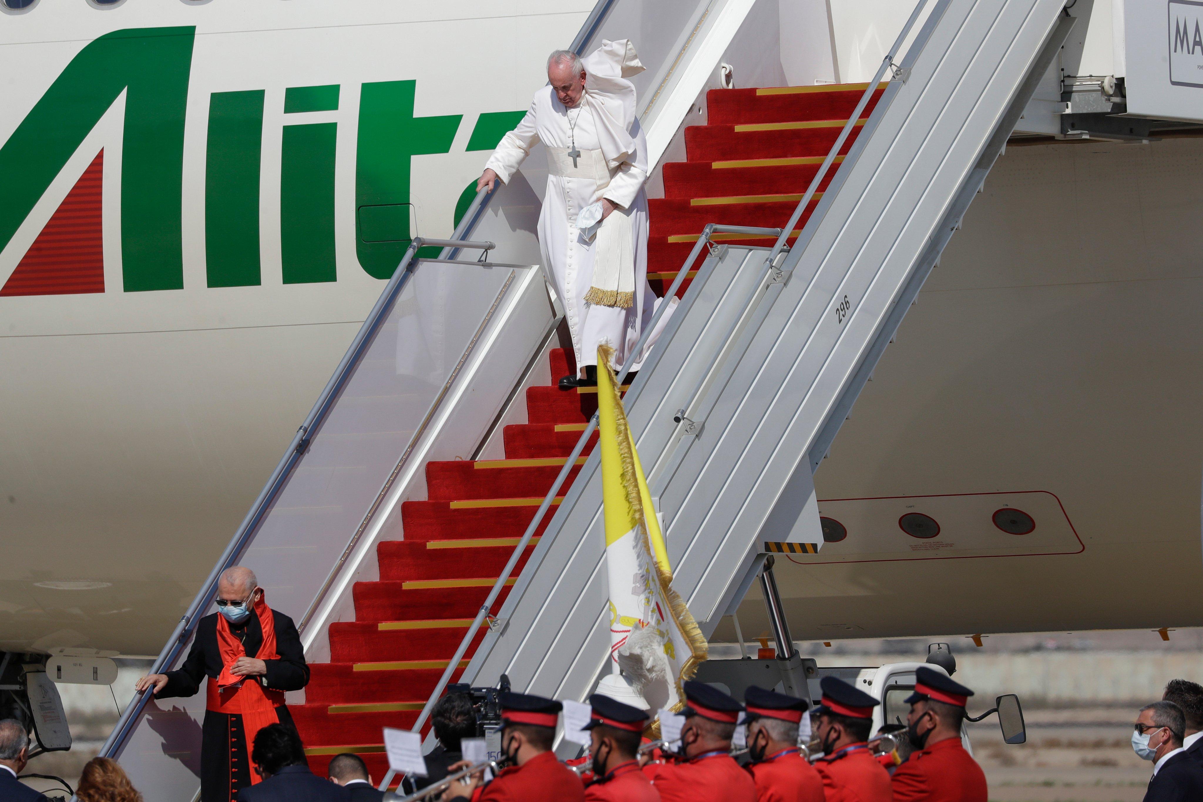 Госсекретарь США приветствовал визит Папы Римского в Ирак