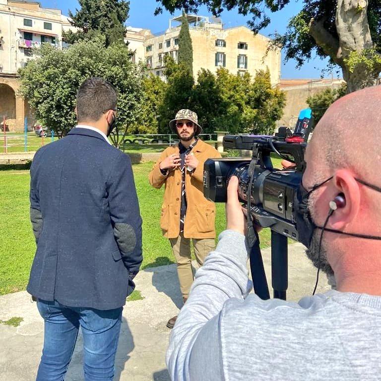 "Tv8 - ""Ogni Mattina"" With Alan Scifo Palermo (Italy) 05.03.2021  #time4stream #livenews  #journalism #cameraman #troupetv #crewtv #camcorder #ognimattina #tv8 #palermo #mondello  #estateitaliana #sun #igersitalia #sanremo #musica"