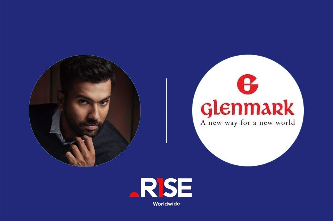 .@ImRo45 🤝 Glenmark  Hitman signs up as the brand ambassador to represent Glenmark's Candid Powder range. We are excited and look forward to a long lasting partnership.  #RiseAsOne