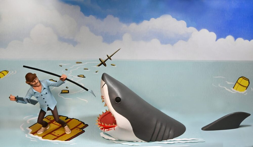 #Jaws more: NECA Toys set to release new Quint and #shark figure: