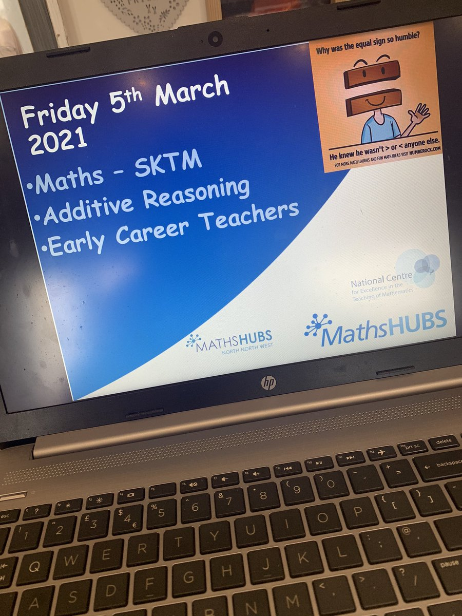 RT @MrsMaths9 Ready to roll... 💙 @NCETM @NNWMathsHub