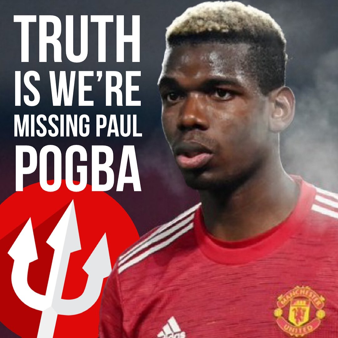 #Pogba Truth is we're badly missing Paul Pogba right now. Other than that fatigue has set in and Donny van de Beek when fit has not delivered what he was signed for. But expect a different United at the Etihad on Sunday. #MNCMUN 🇾🇪 #manchesterisred #manutdthereligion 💪