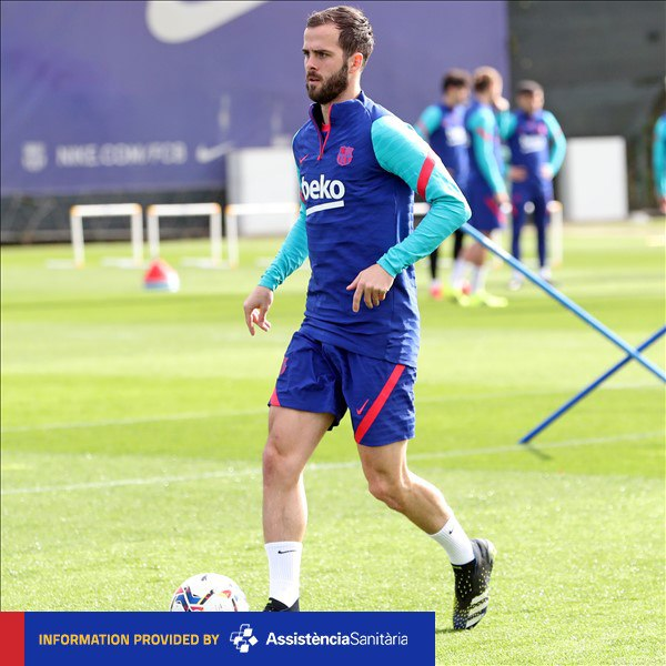 LATEST NEWS | @Miralem_Pjanic is fit and in the squad for #OsasunaBarça