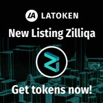 Image for the Tweet beginning: $ZIL is live and trading