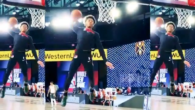 Anfernee Simons can FLAT OUT FLY! ✈️  Watch him in the #ATTSlamDunk contest during All of All-Star in One Night, Sunday on TNT!  🌟 5pm/et: TNT NBA Tip-Off presented by CarMax  🌟 6:30pm/et: #TacoBellSkills & #MtnDew3PT 🌟 8pm/et: 70th #NBAAllStar Game 🌟 Halftime: #ATTSlamDunk