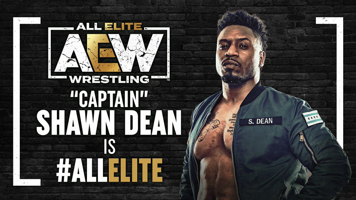 Thank you for your service to the USA, @ShawnDean773, + thank you for everything you've done for @AEW to help us thrive through the pandemic. Your consistent hard work, positivity + reliability have made you so valuable to #AEW; now it's my honor to officially welcome you aboard!