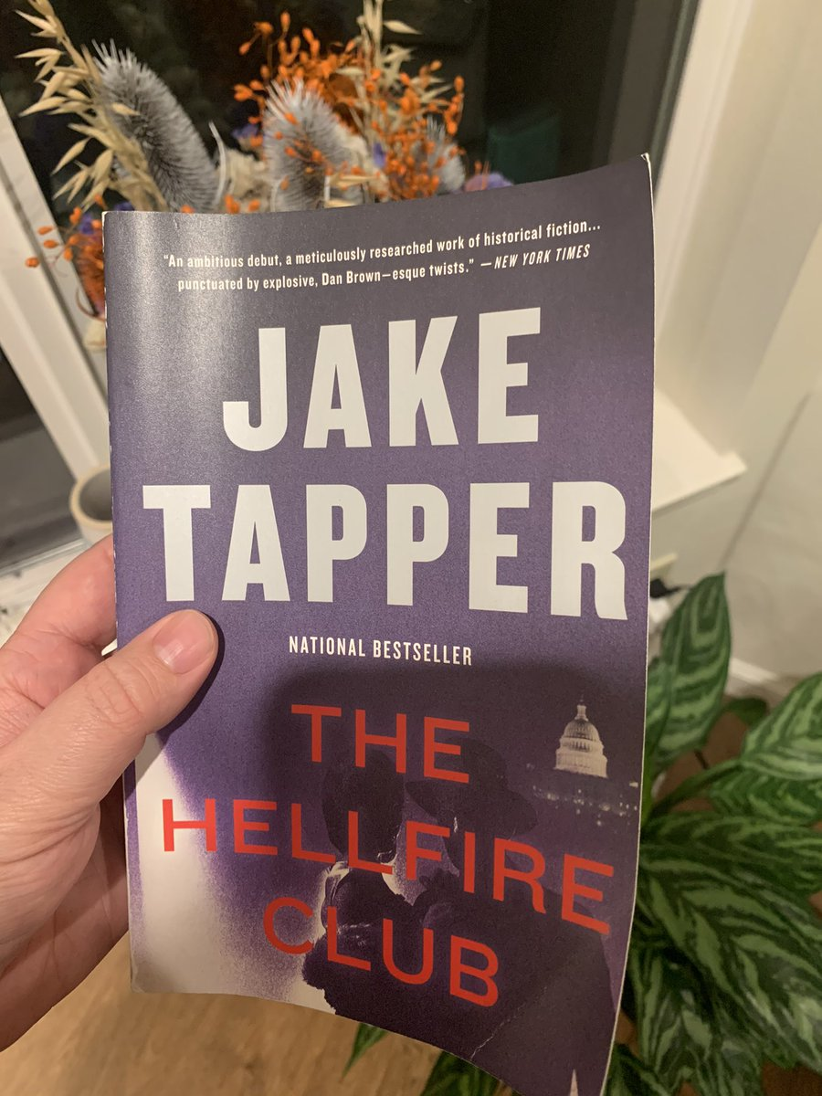 @Devil_May_Dance @jaketapper just finished reading @TheHellfireClub, political thriller is not a genre I ever imagined devouring but here we are. Many of the lines, like this one, were a little too haunting. Can't wait for @Devil_May_Dance!