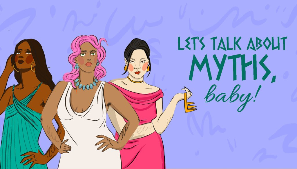 Evil or righteous? Manipulative or brilliant? Get to know the stories behind the many women wronged by mythology this month on Let's Talk About Myths, Baby (@mythsbaby).
