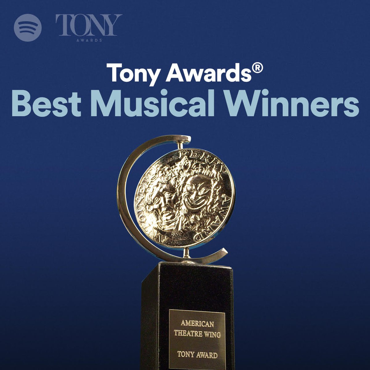 Weekend plans? 🎧 We're listening to awesome new @Spotify playlists of songs from 🎶 Best Musical and Best Score 🎶 #TonyAwards winners. Find out which tunes they chose and listen + repeat! Best Musical:  Best Score: