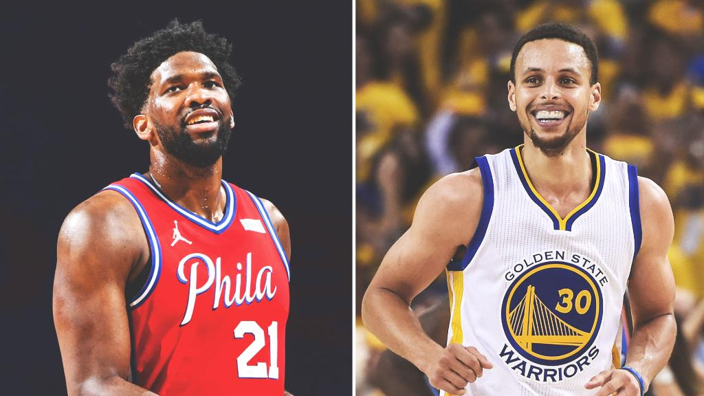 Joel Embiid is on pace to join 2015-16 Stephen Curry as the only players to average 30 points on 50% shooting and 40% on 3-pointers in a season.  Steph was the unanimous MVP that season 👀  (h/t @ESPNStatsInfo) https://t.co/0chMRavhsp