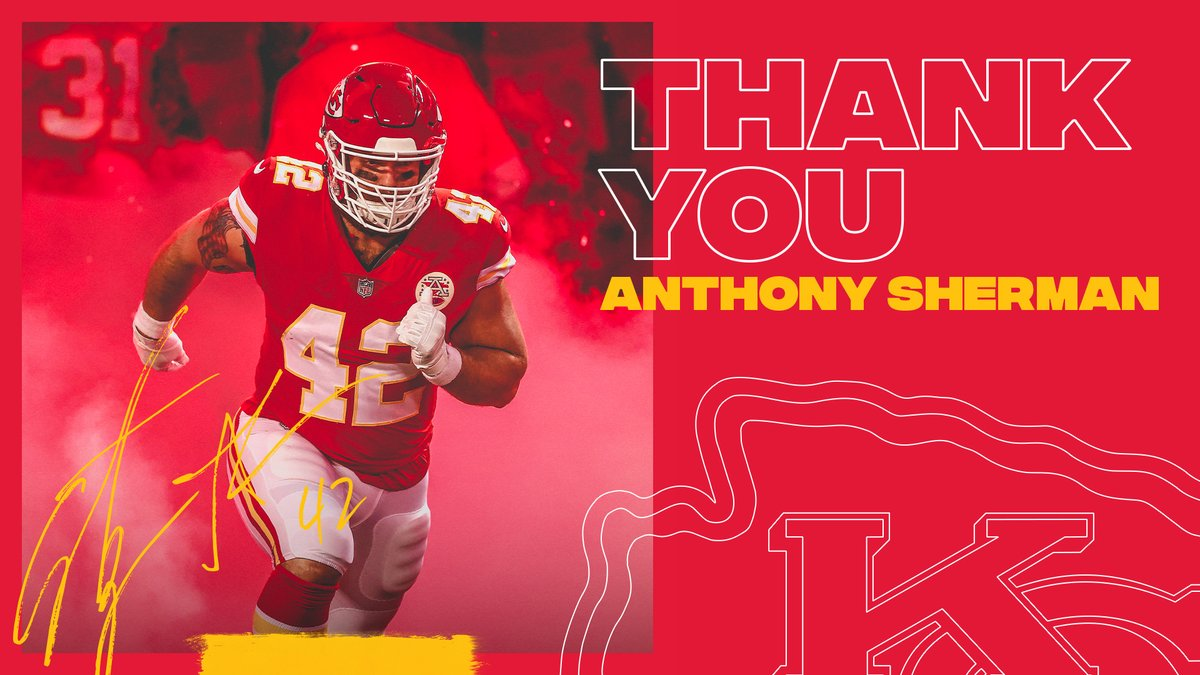 An incredible 8 seasons 👏  Going to miss you, @Shermanator_42!