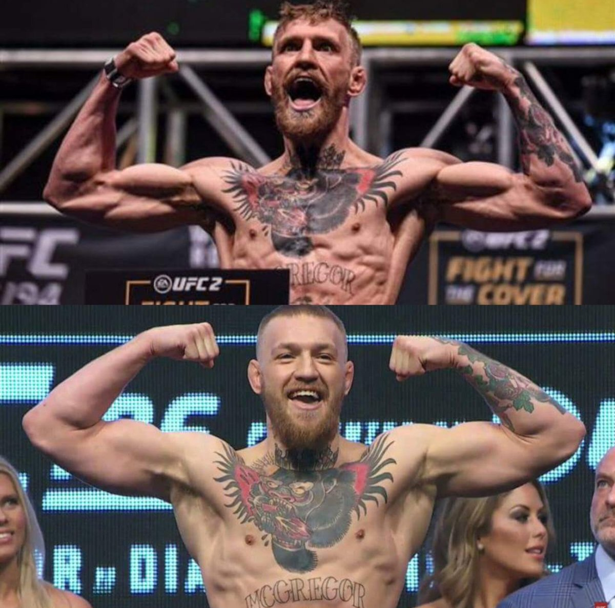 One thing I'll never forget about covering UFC 196 was the massive difference in Conor McGregor weighing 145lbs for the Jose Aldo fight just a few months prior vs. weighing in at 168lbs for the Nate Diaz fight. Crazy that it's already been 5 years since this event.