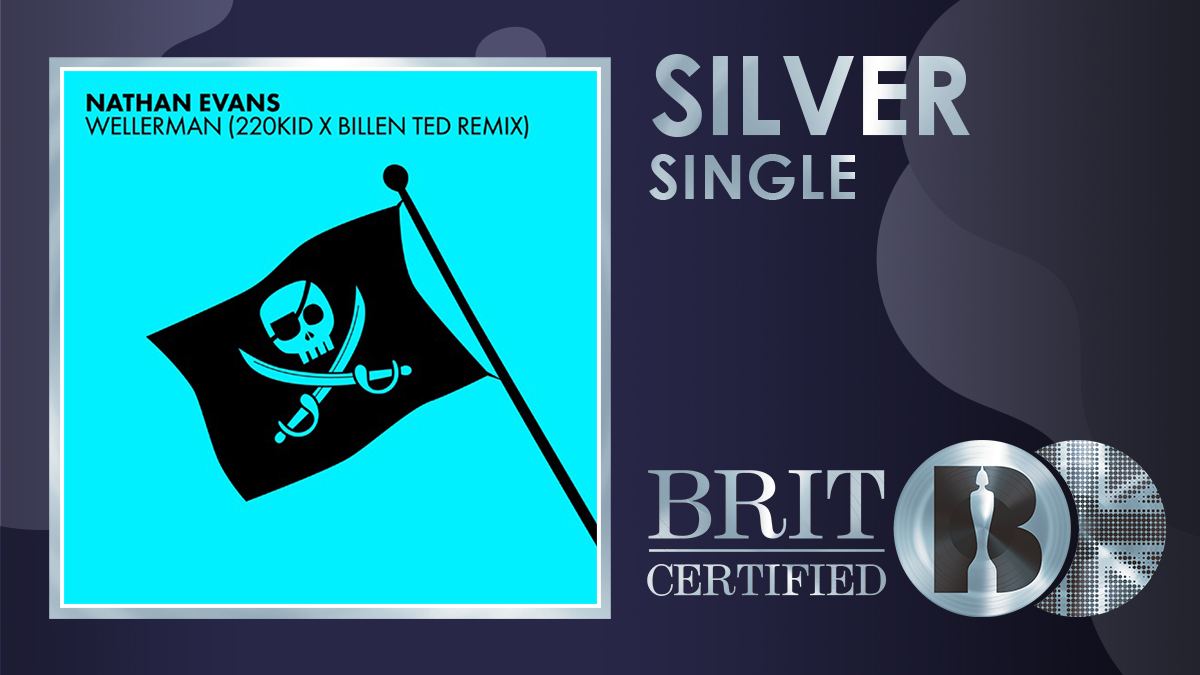 👏 Sea shanty time! 'Wellerman' from @NathanEvanss, @220_kid and @billented1 is now #BRITcertified Silver! 💿