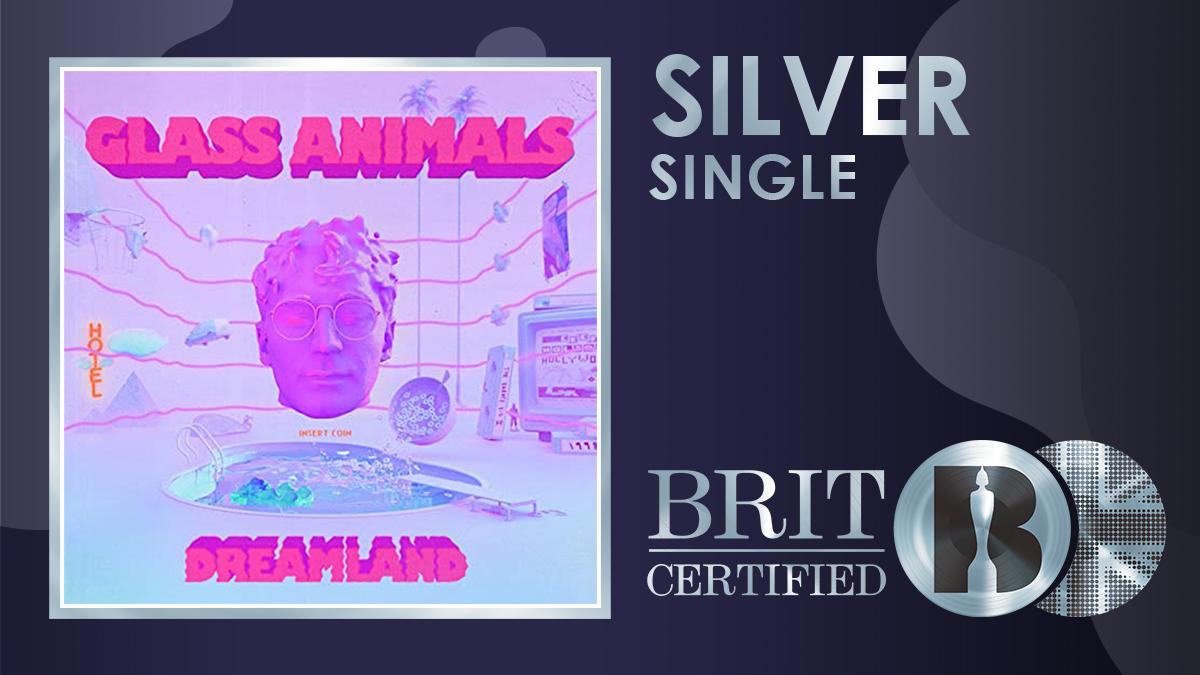 🌞 @GlassAnimals' 2020 release 'Heat Waves' has gone #BRITcertified Silver! 💿