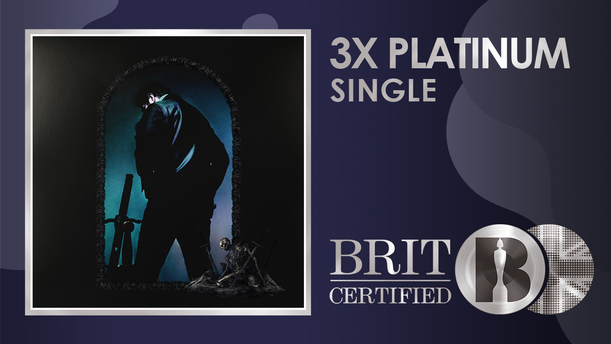 🌻 @PostMalone's 'Sunflower' featuring @SwaeLee is now #BRITcertified 3x Platinum! 💿💿💿