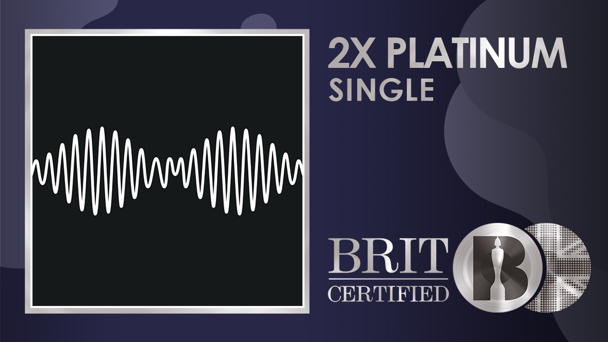 🎸 'R U Mine', the massive 2012 single from @ArcticMonkeys has gone #BRITcertified 2x Platinum! 💿💿