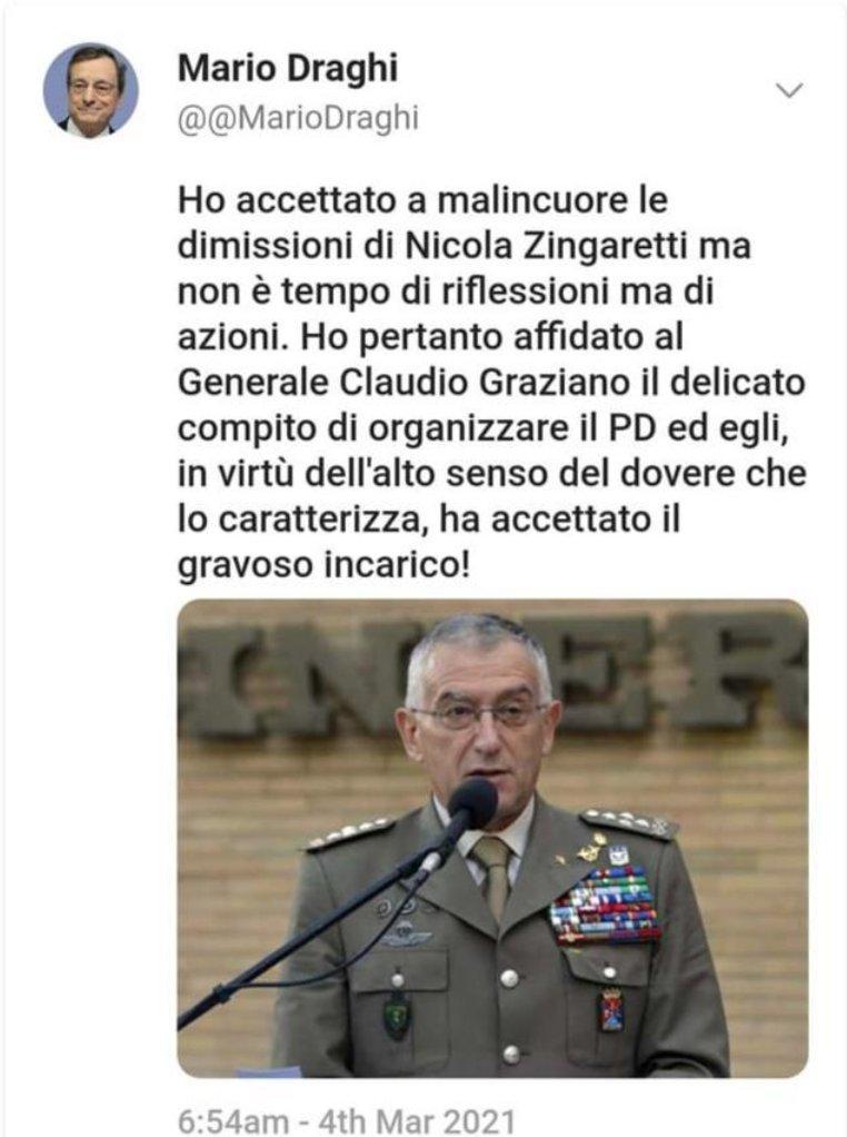 #ZingarettiSegretario