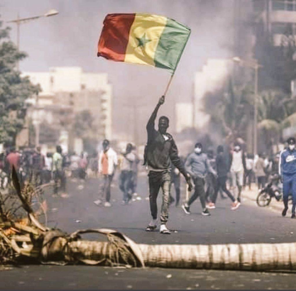 I think the whole of Africa is waking up. We are woke now and we are not sleeping no more! #freesenegal #africaisawaken.