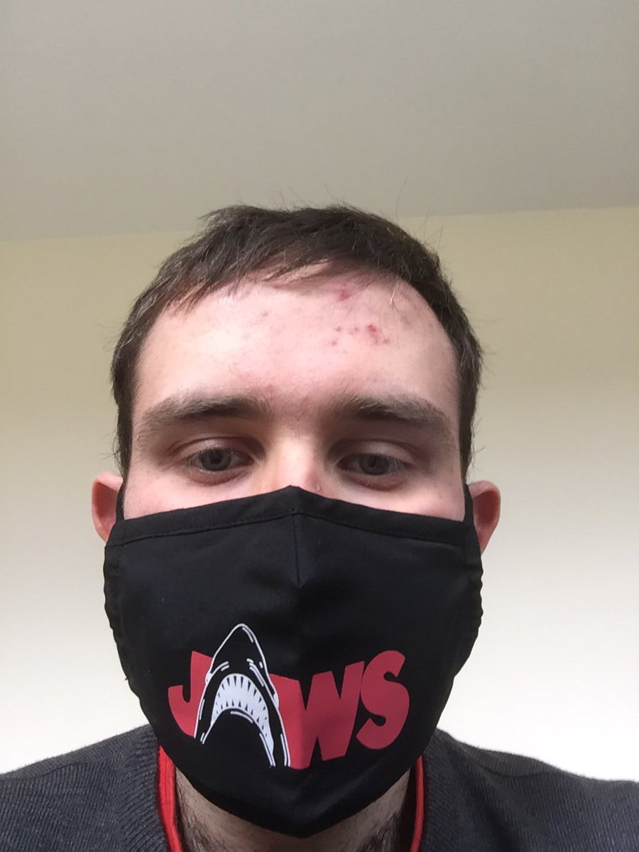 New face mask #jaws