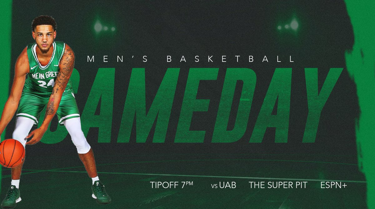 North Texas Mean Green Basketball