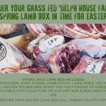 Image for the Tweet beginning: Spring Half Lamb Boxes -