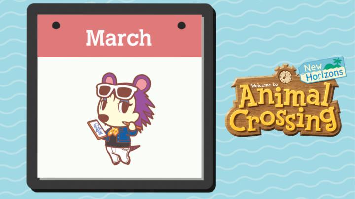 [Video] The snow is melting and the grass is getting greener! Here's what you can expect as you march into Spring this month in #AnimalCrossing: New Horizons!