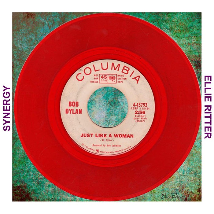 Ellie Ritter RED record Just Like a Woman for SYNERGY 11 RED  #synergy #collaboration #harlemvalley #newyork #nys #covid19 #staysafe #together #lonnakelly #artist #life #BobDylan #EllieRitter