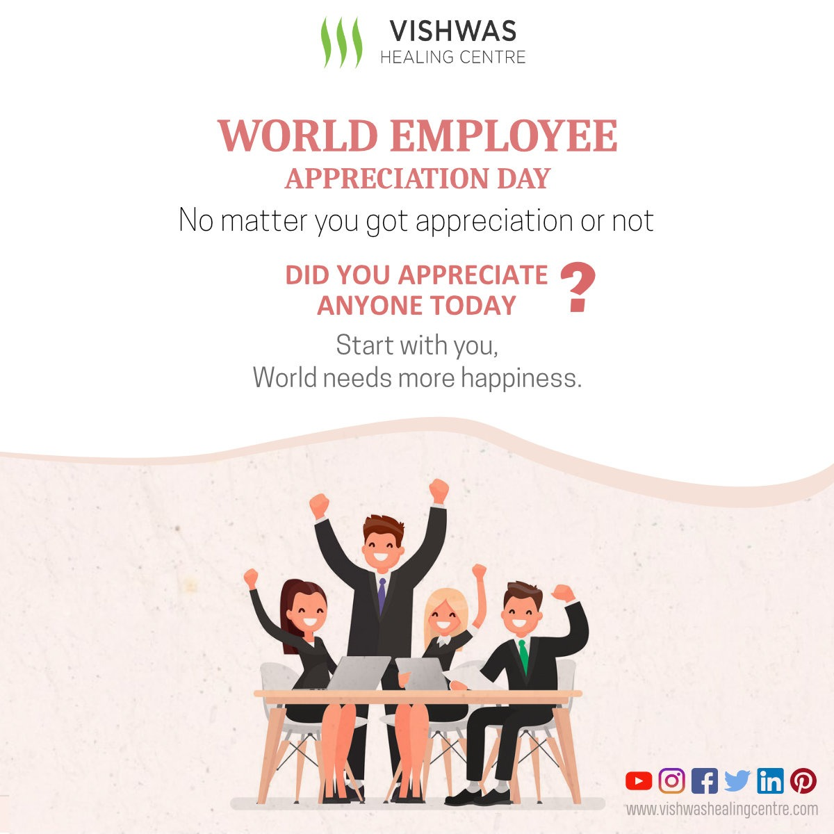 #HappyWorldEmployeeAppreciationDay #WorldEmployeeAppreciationDay #EmployeeAppreciationDay #Happiness #Gratitude #Relationship #Loyalty #Respect #Environment #Feelings #Appreciation