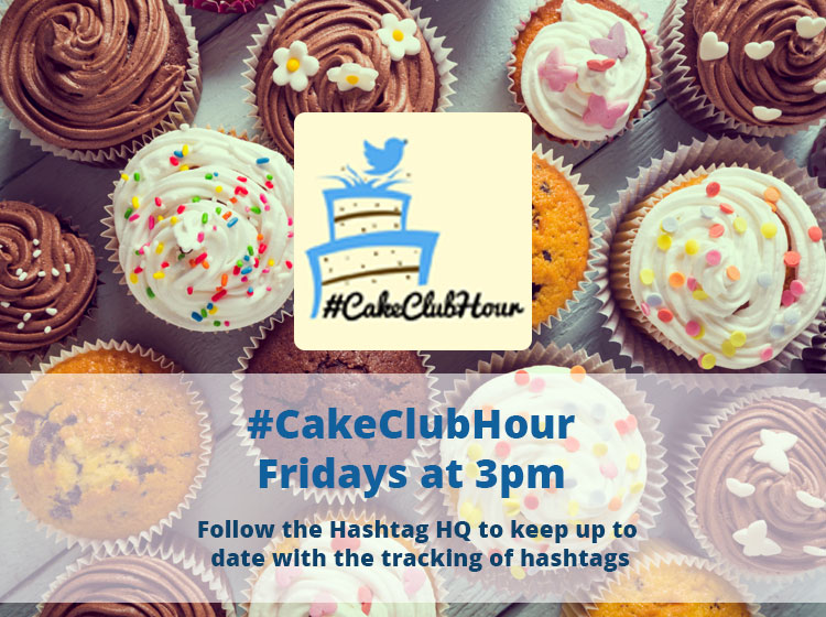 Not long to go until @CakeClubHour kicks off! Catch the #CakeClubHour chat at 3pm today 5th March 2021 #FridayFeeling #TheHashtagDirectory