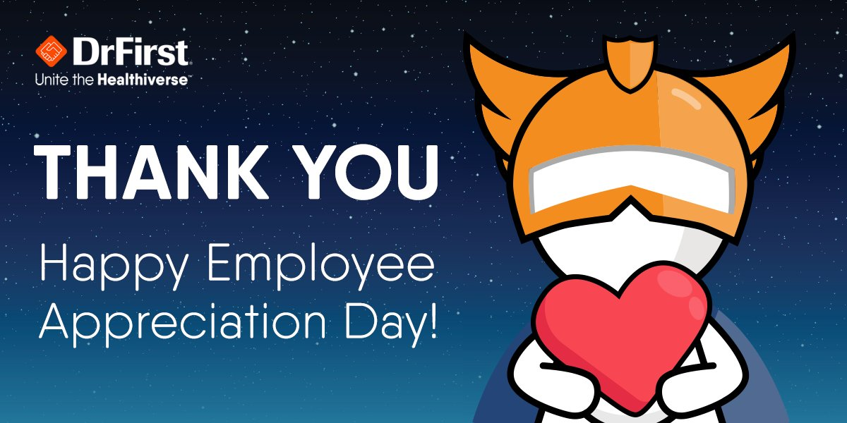Employee Appreciation Day is March 5. But one day isn't enough…We appreciate our team every day! #EmployeeAppreciationDay #GuardiansOfHealthcare #UniteTheHealthiverse #WorkSomewhereAwesome