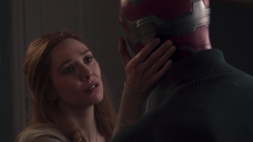 """solci lvs jude 🐉 on Twitter: """"SPOILER #WandaVisionFinale . . . . . . Cómo  me recupero de esto? """"you, vision, you are a piece of the mind stone that  lives in"""