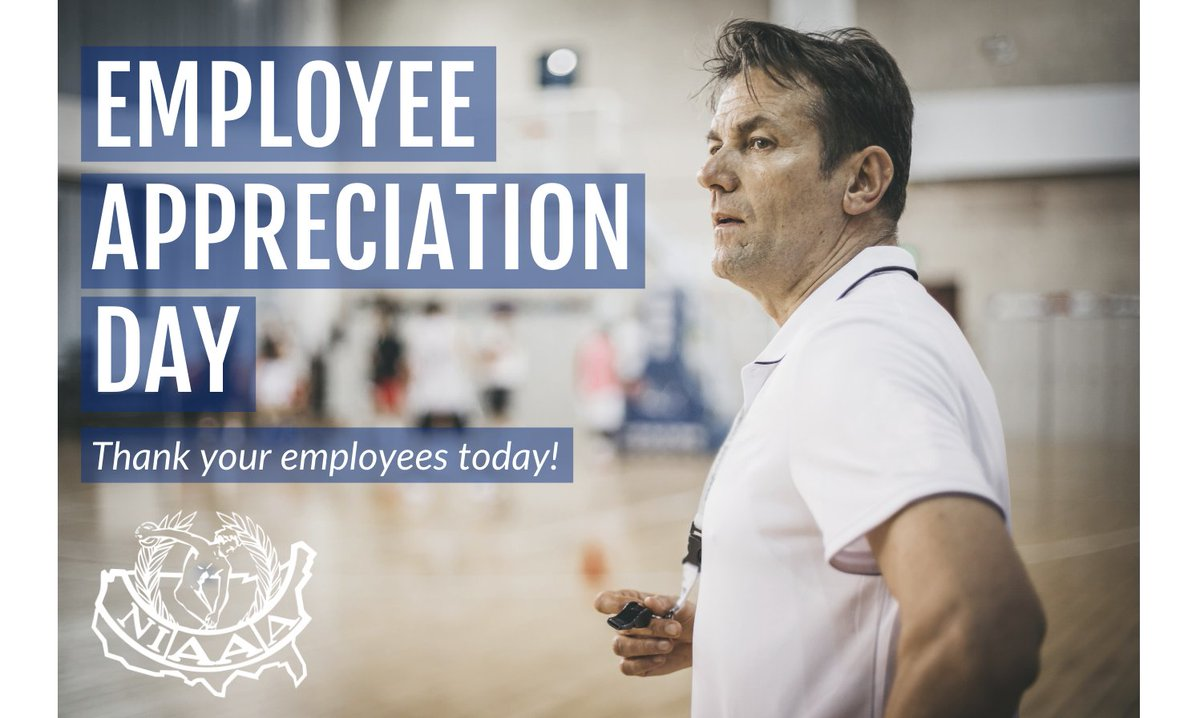 Today is Employee Appreciation Day! Whether you oversee coaches, trainers, maintenance workers, or all of the above, show them some gratitude today! #EmployeeAppreciationDay