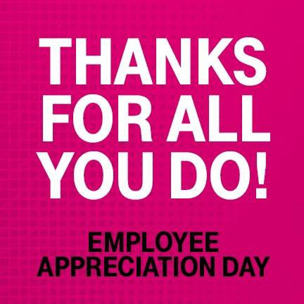 Happy #EmployeeAppreciationDay to ALL the Frontline Great Lakes employees that hustle every day to get it done! I admire each of you and the work you do to support each other and our @TMobile customers! #UnleashTheEast #GreatLakesRocks