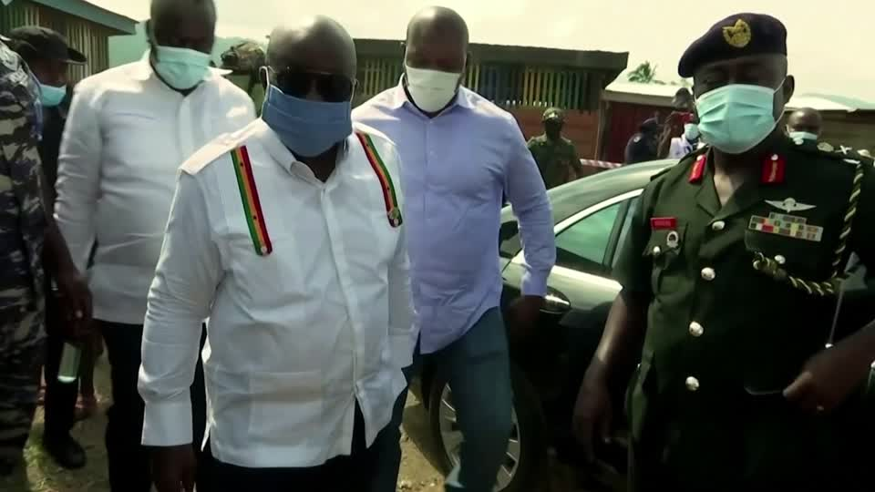 President Nana Akufo-Addo's election victory was upheld by Ghana's Supreme Court and runner-up John Mahama grudgingly accepted the ruling https://t.co/rjGtXNwjVp https://t.co/BVPF6Oskun