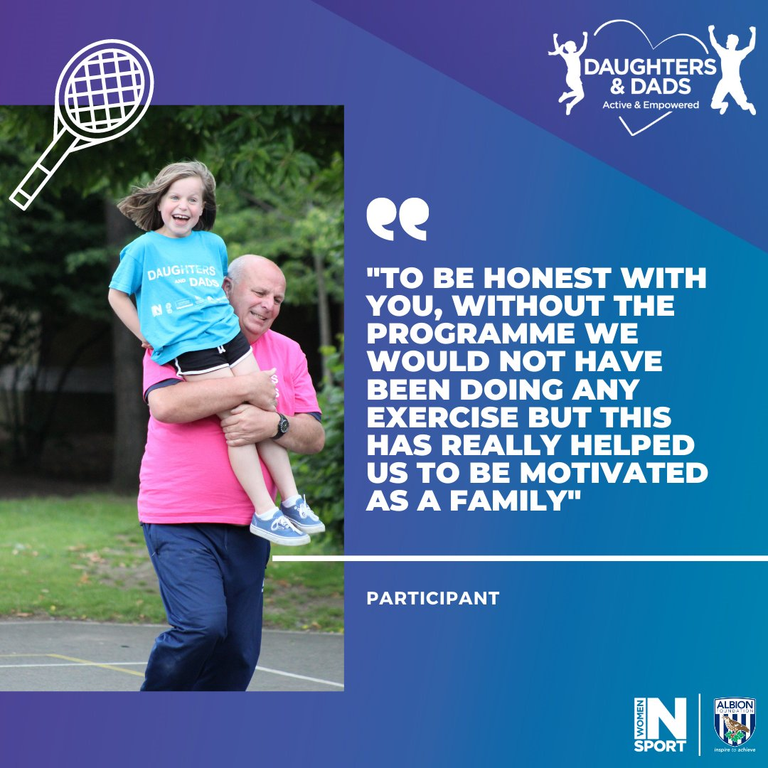 Are you a father or father-figure with a daughter or equivalent who currently attends primary school key stages 1 and/or 2 (aged 5-11)?  Our Daughters and Dads programme could be just for you!  Sign up 👉   @DaughterDad_UoN   @Womeninsport_uk