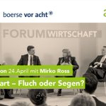 Image for the Tweet beginning: Verpassen Sie nicht die Podiumsdiskussion