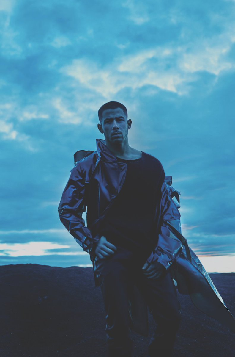 """""""I actually have the voice note of the original melody I made at home on my piano. I sent it to Greg Kurstin the night before our session and we wrote the entire song the next day."""" @nickjonas on his latest track #ThisIsHeaven ☁️"""