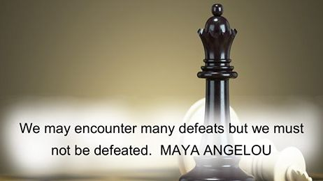 #MondayMotivation Happy Monday to those who decided that defeat is not an option!
