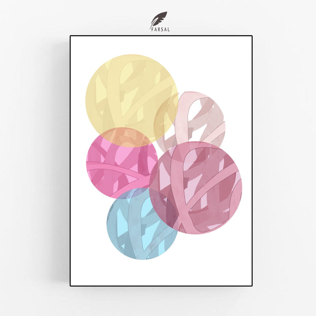 Excited to share this item from my #etsy shop: ❤️🥰  #digitalprints #circle #art #interior_design