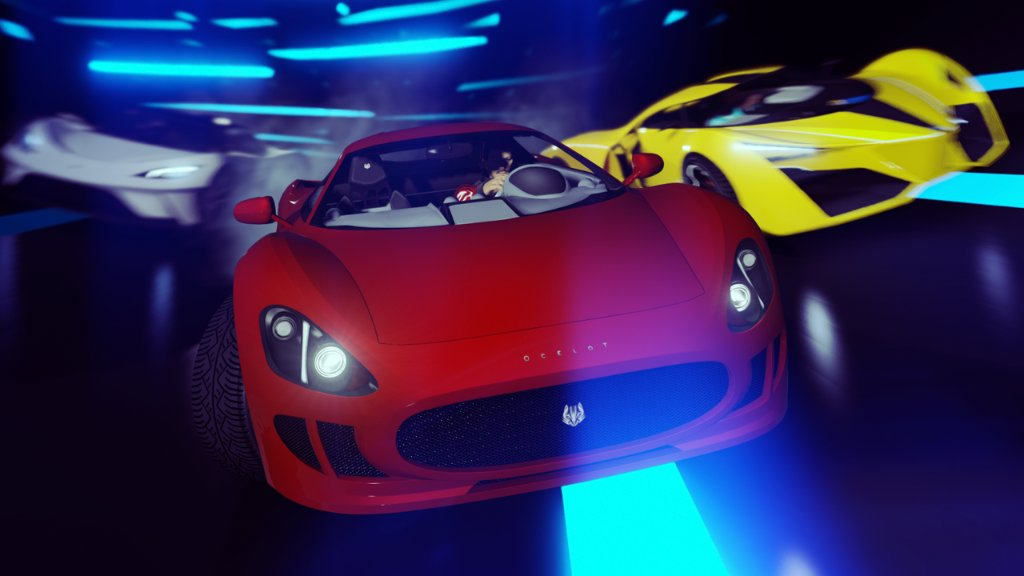 GTA Online Player Job Spotlight (PC)  Neon Pipeline by REDSTAR-94  An expertly pieced together Stunt Race for PC that is as intricate as it is dazzling. Read about the track and how to play it here: