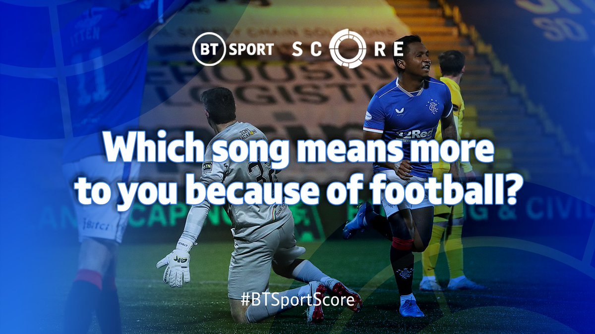 Chorley had Adele during their cup run, while Steven Gerrard said this week that Alfredo Morelos was dancing to Sweet Caroline... 😂  Which song means more to you because of football and WHY? 🎵  What's the soundtrack for one of your favourite football memories? ⏪  #BTSportScore