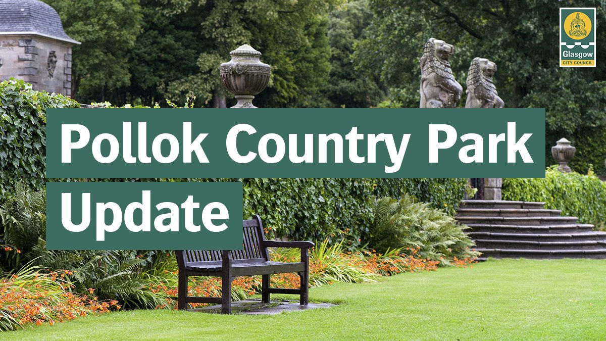 If you are making essential travel for exercise this weekend and are planning a visit to Pollok Country Park, please leave the car at home 🌳 🚗 ❌  The car parks within the park are open to blue badge holders only this weekend.