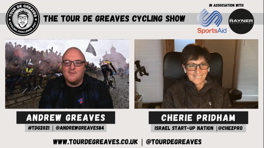 MONDAY | The next episode of The @TourDeGreaves Cycling Show is out next week with @AndrewGreaves84 chatting to @ChezPro about: 🌍Her new WT role with @TeamIsraelSUN 🇬🇧Her success with @VitusProCycling on the British Continental scene 🏅Goals for the season And much more...